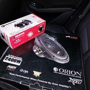 "12"" Orion XTR Sub 2400Watts"